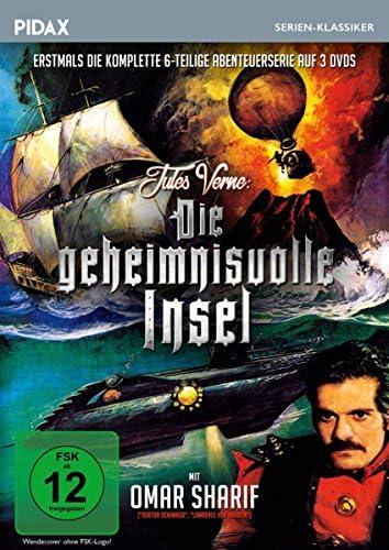 Jules Verne: Die geheimnisvolle Insel - Die komplette Serie (3 DVDs)