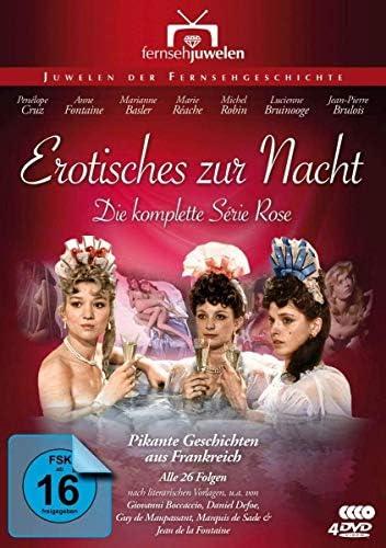 Erotisches zur Nacht Die komplette Série Rose (Alle 26 Folgen) (4 DVDs)