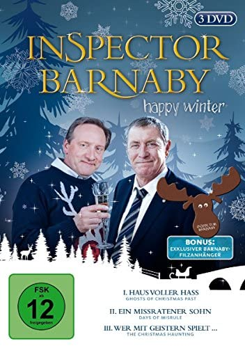Inspector Barnaby Happy Winter (3 DVDs)