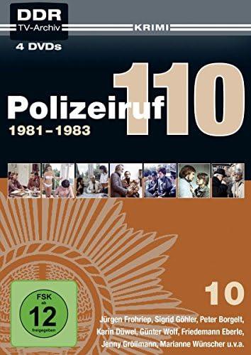 Polizeiruf 110 Box 10: 1981-1983 (DDR TV-Archiv) (4 DVDs)