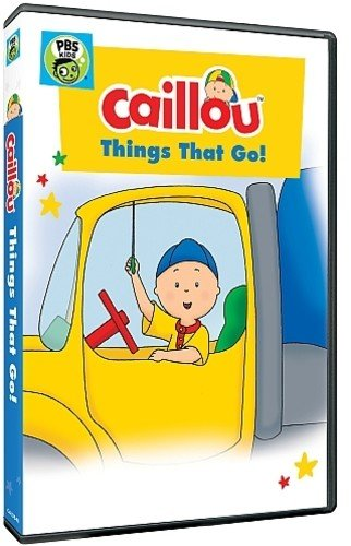 Caillou: Things that Go! DVD