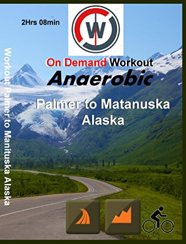 Anaerobic Palmer to Matanuska Glacier, Alaska. Indoor Cycling - Spinning Workout