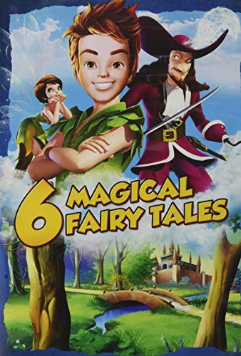 6 Magical Fairy Tales Animated Movie Collection - Set