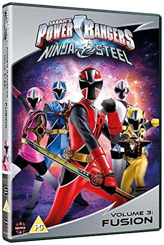 Power Rangers Ninja Steel: Fusion (Volume 3) Episodes 9-12