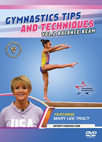 Gymnastics Tips and Techniques - Vol. 2 Beam DVD featuring Coach Mary Lee Tracy